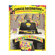 Happy Birthday Cubic Decor Set Yellow