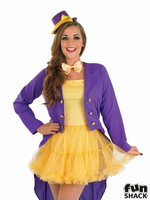 Lady Factory Owner Fancy Dress Costume