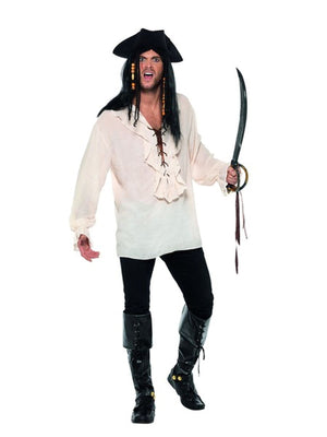 Pirate Shirt Men's Fancy Dress