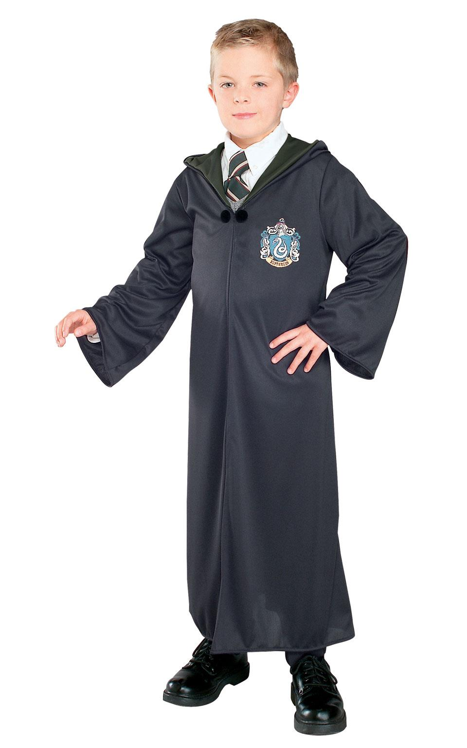 Slytherin Robe Harry Potter Fancy Dress costume Outfit Book Week
