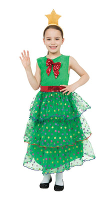 Christmas Tree Girl Costume