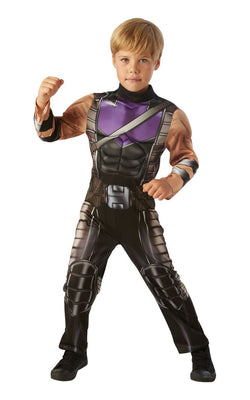 Hawkeye Marvel Avengers Boys Fancy Dress Costume
