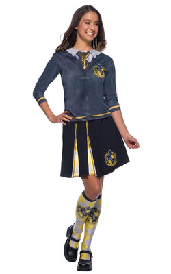 Hugglepuff Harry Potter Womens Fancy Dress Costume Book Week Outfit