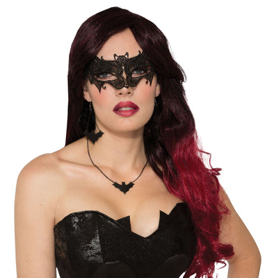 Bat Mask Lace