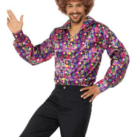 60s Psychedelic CND Shirt Fancy Dress
