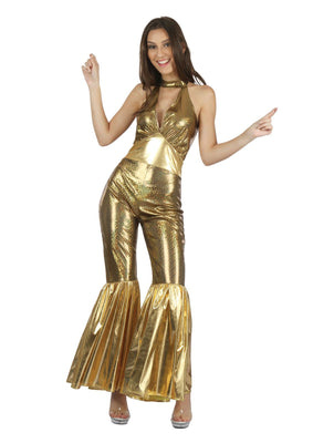 Disco Jumpsuit Women's Costume