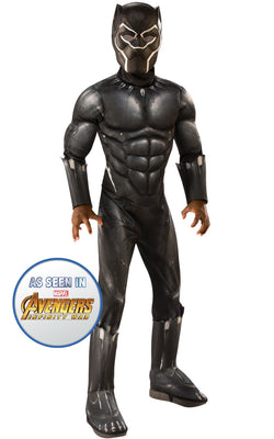 Black Panther Engame Avengers 4Marvel DC comics Fancy Dress Boys Costume