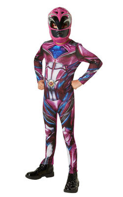 Power Rangers Ranger Movie Girl's Fancy Dress Costume