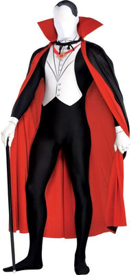 Adults Vampire Party Suit Fancy Dress Costume