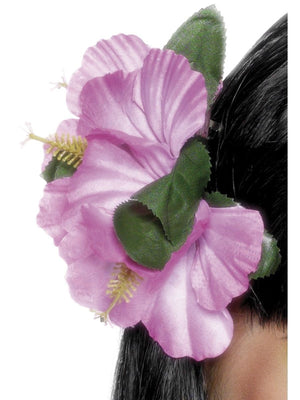 Hawaiian Flower Clip Pink