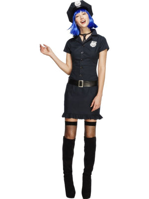 Naughty Cop Fancy Dress Costume