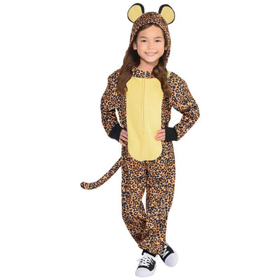 Leopard Zipster  Costume