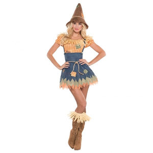 Sultry Scarecrow Fancy Dress Costume