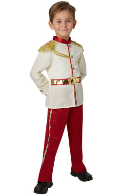 Boy's Prince Charming Fancy Dress Costume