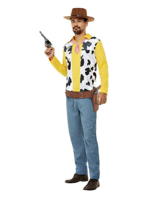 Western Cowboy Costume, Yellow