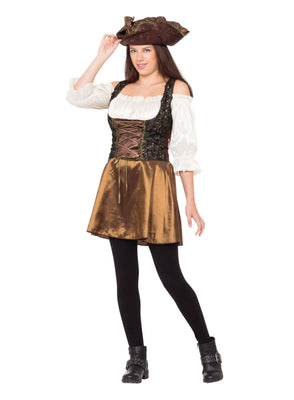 Pirate Gold Rose Women's Costume