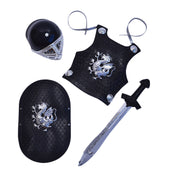 Knight Black Armour Set Childs