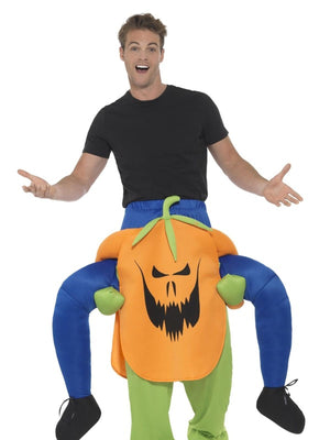 Piggyback Pumpkin Costume