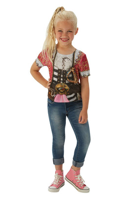 Pirate Girl Tshirt Fancy Dress