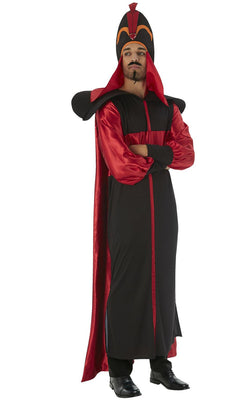 Jafar Aladdin Disney Mens Fancy Dress Costume Licensed Outfit