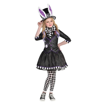Girls Dark Mad Hatter