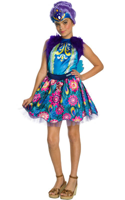 Patter Peacock Enchantimals Girl's Costume