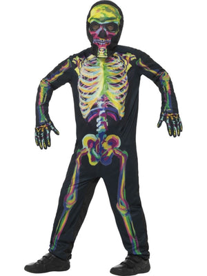 Glow in the Dark Skeleton Boy's Fancy Dress Costume