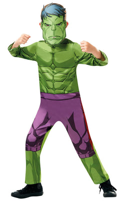 Hulk Marvel Boy's Fancy Dress