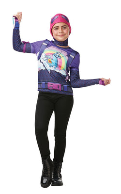 Fortnite Brite Bomber Costume Top Teen
