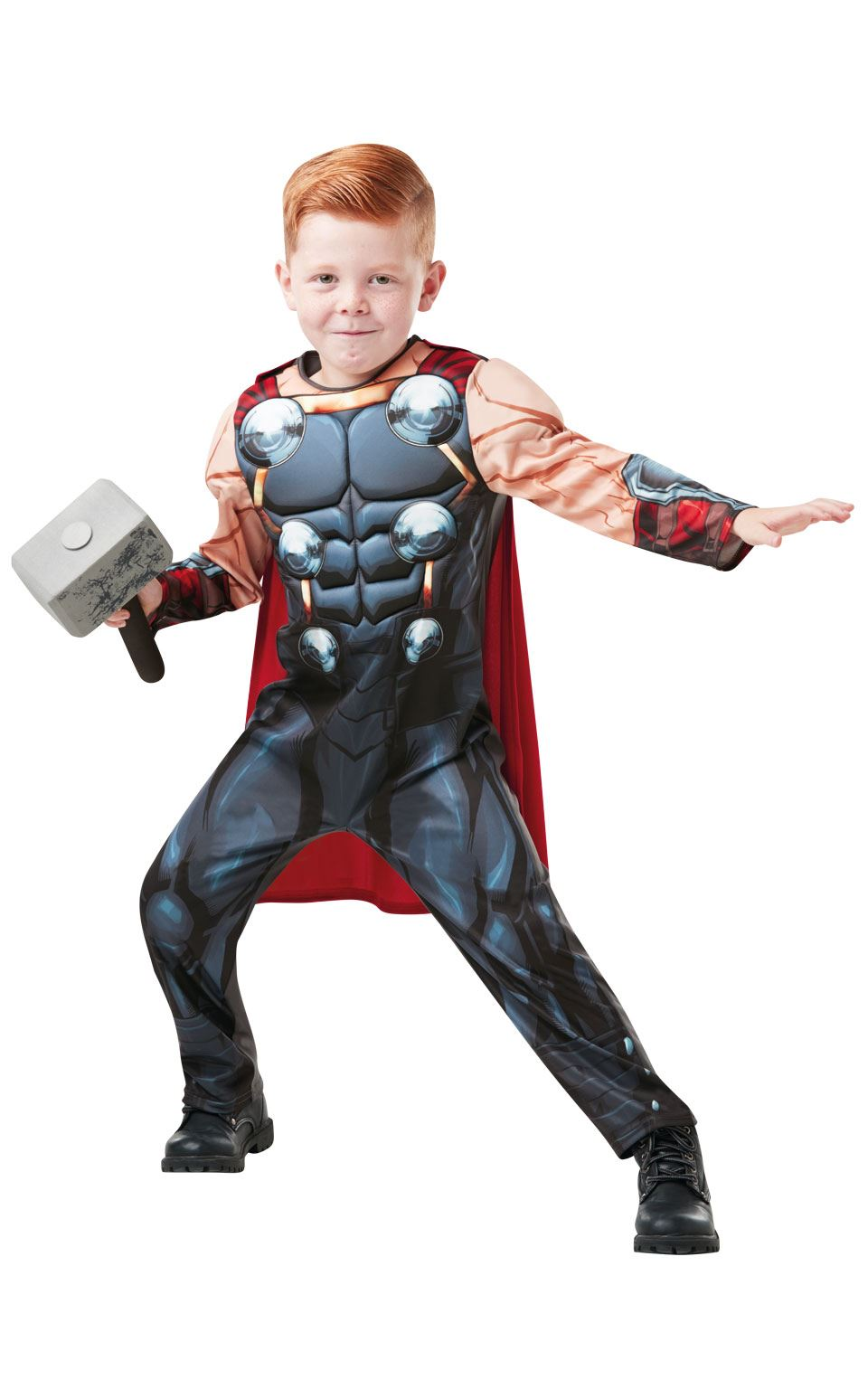 Thor Delixe Marvel Boy's fancy Dress Costume