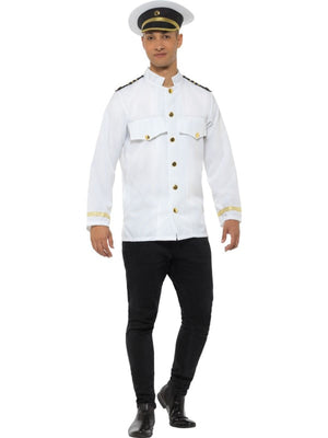 Captain Jacket Men's Fancy Dress