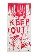 Halloween Door Cover Keep out