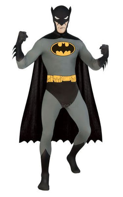 2nd Skin Batman Fancy Dress Costume