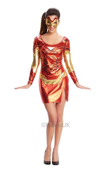 Miss IronMan Rescue Costume