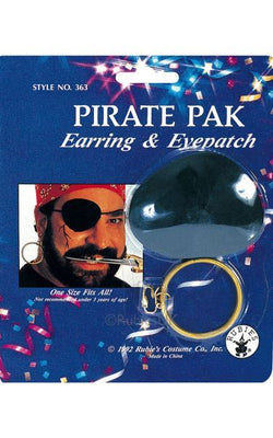 Pirate Pack Earring & Eyepatch