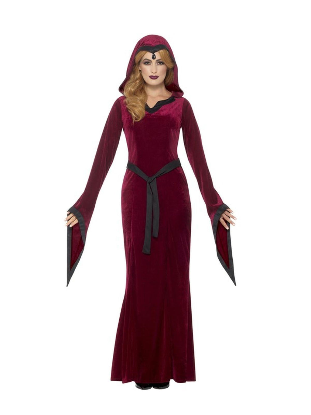 Medieval Vampiress  Women's Fancy Dress Costume