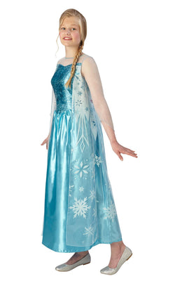 Elsa Disney PrincessFrozen Girls Fancy Dress Costume Teen