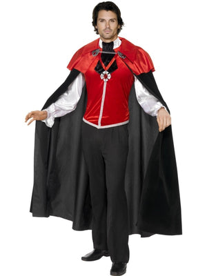 Gothic Manor Vampire Fancy Dress Costume