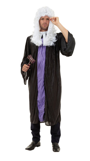 Judge Gown Men's Costume
