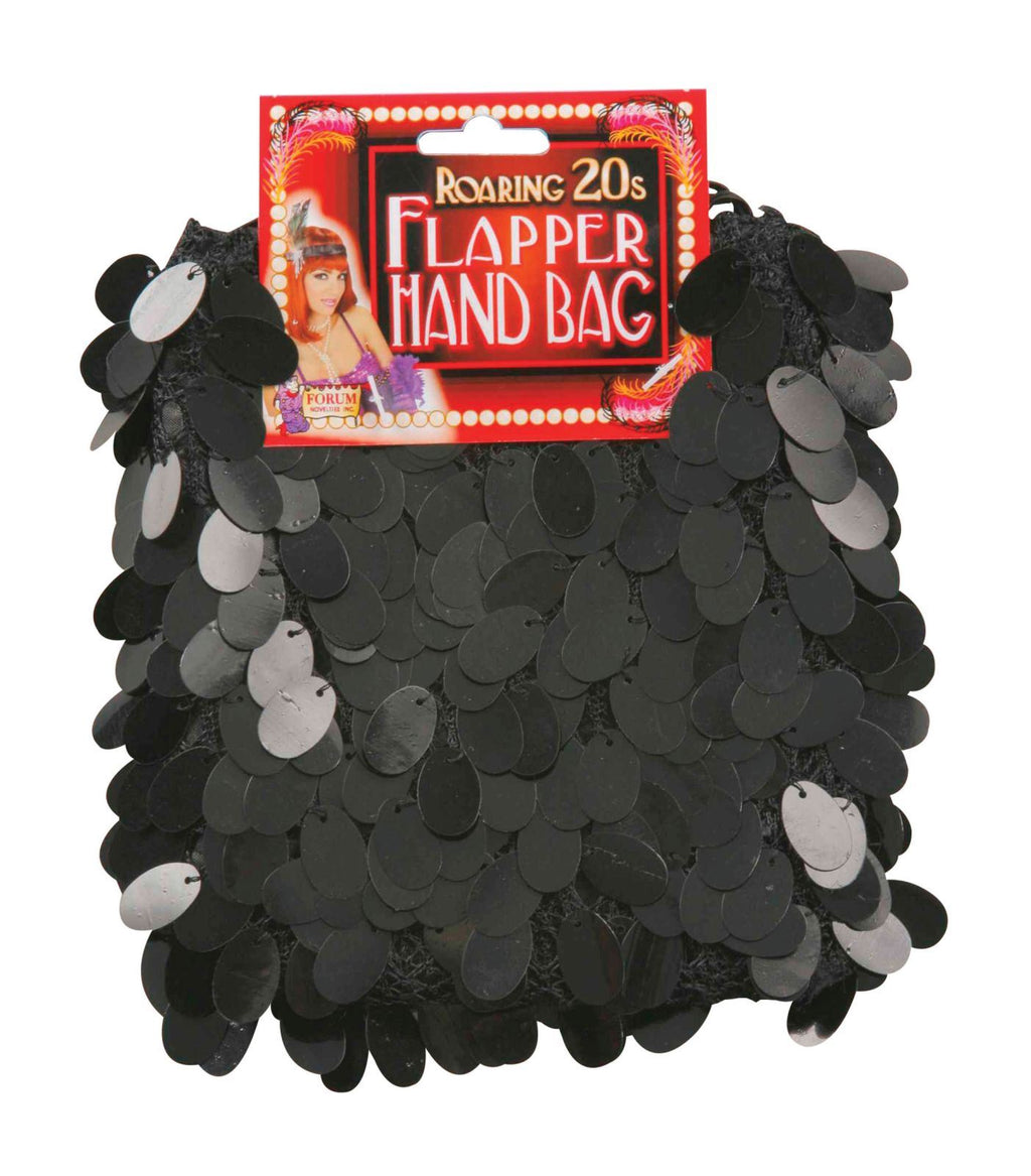 Flapper Black Hand Bag
