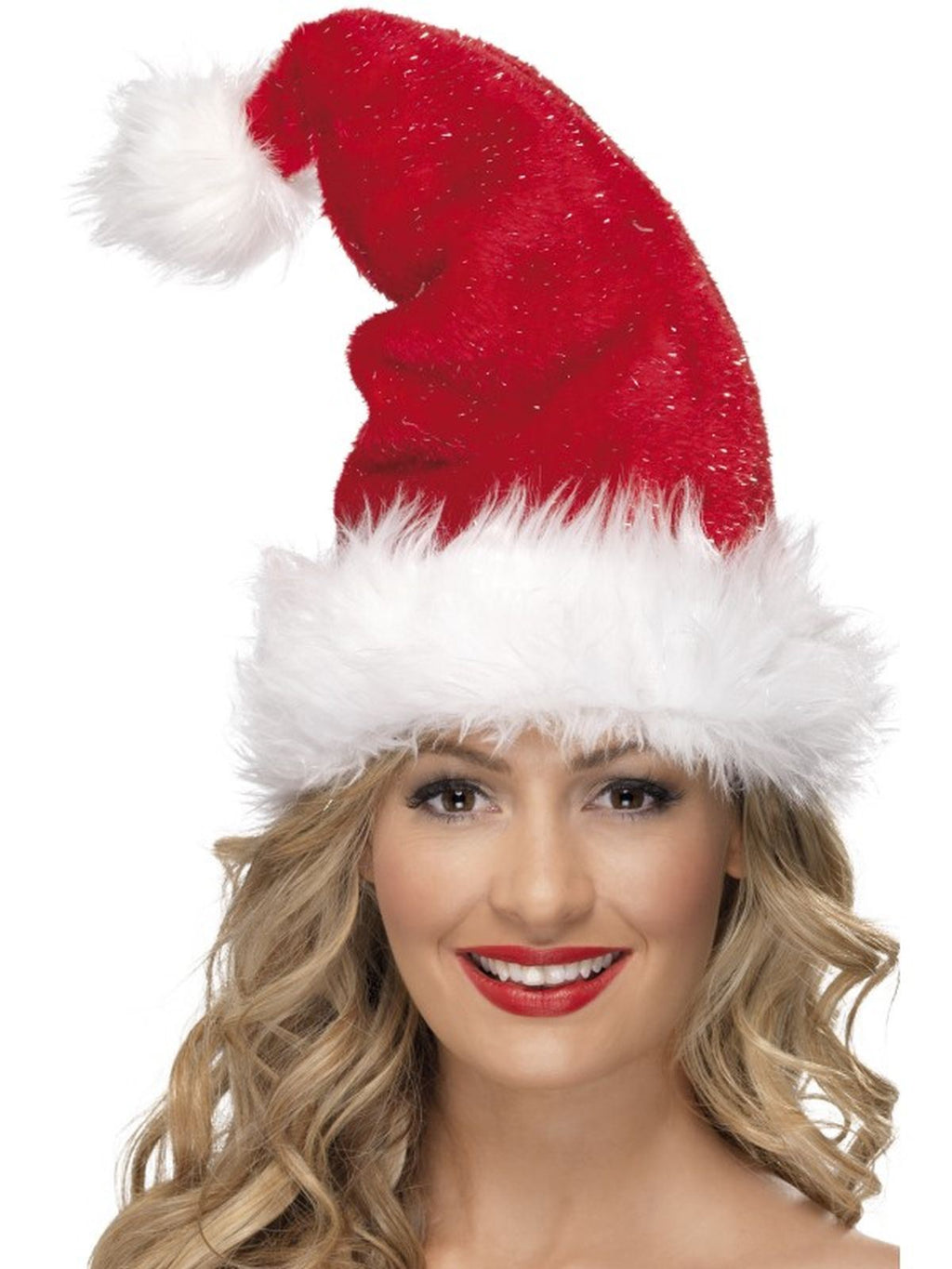 Deluxe Santa Fancy Dress Hat
