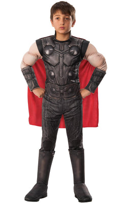 Thor Engame Avengers 4Marvel DC comics Fancy Dress Boys Costume