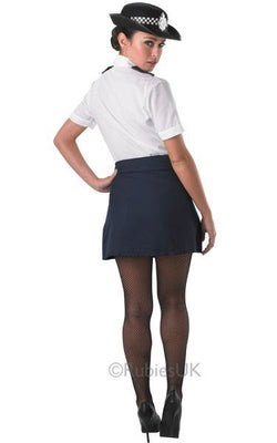 Policewoman Fancy Dress Costume