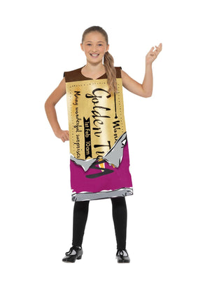 Roald Dahl Winning Wonka Bar Boys Fancy Dress Costume