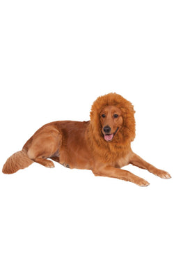 Lions Mane Deluxe Dog Costume