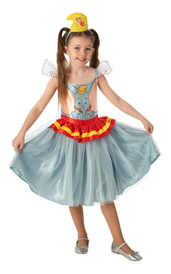 Dumbo Disney Tutu Dress Grils Fancy Dress Costume Outfit Film
