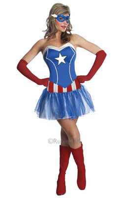 Womens Marvel Miss American Dream Costume