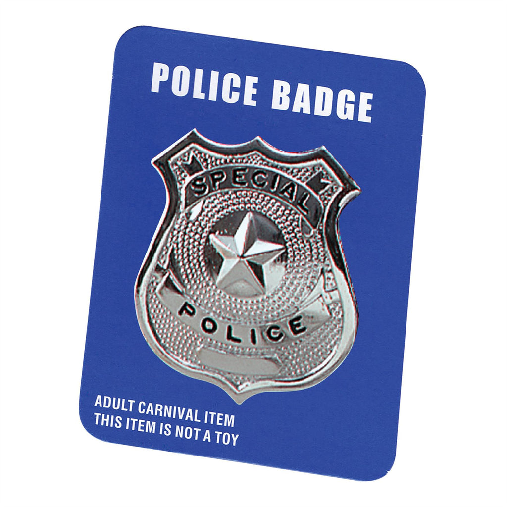 Police Badge - Metal
