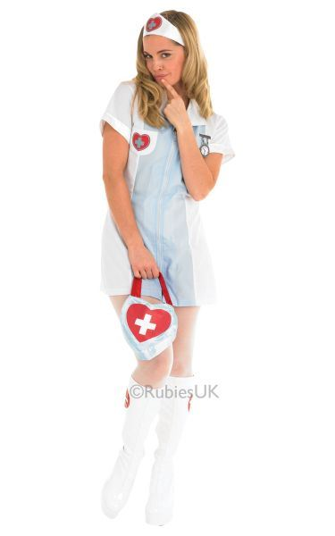 Nurse Fancy Dress Costume