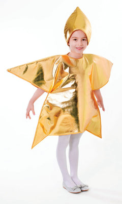 Childs Gold Star Costume